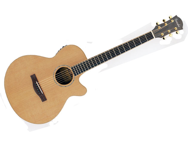 The hybrid shape offers something for both fingerpickers and strummers.