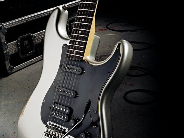 The twin Texas Specials pickups are a great addition to this Strat.