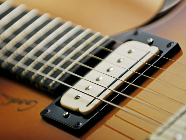 The P-Rails pickups give the type2 tremendous sonic versatility.