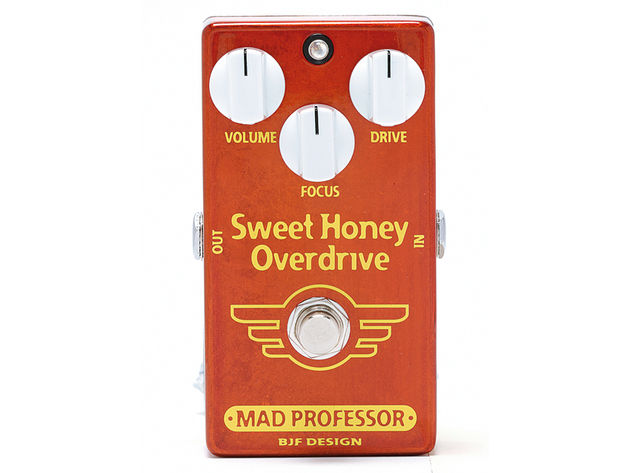 The pedal is best suited to classic blues and rock sounds.