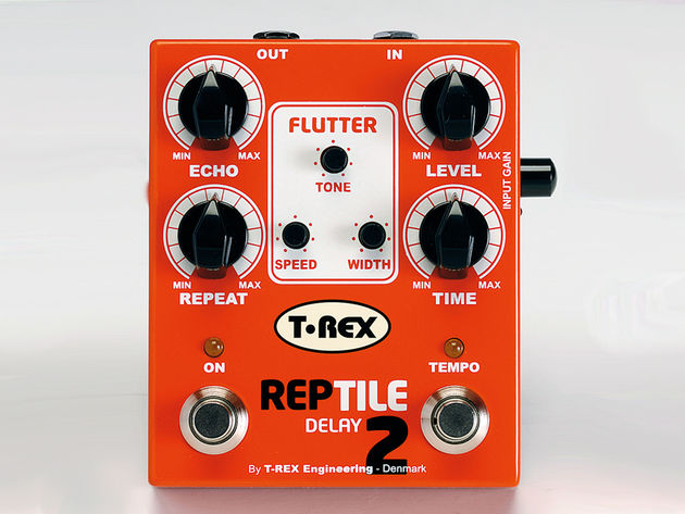 This pedal provides classic delay for classic guitar tones.