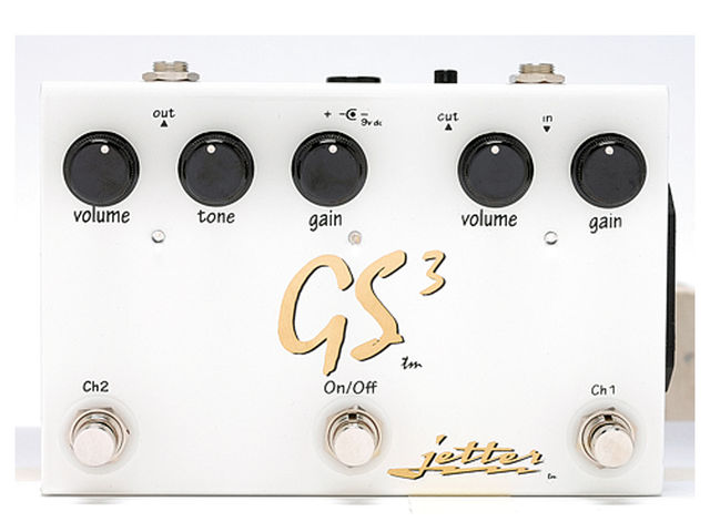 The GS3 has two channels and plenty of controls.