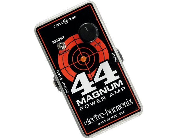 The Magnum works in much the same way as a traditional power amp.
