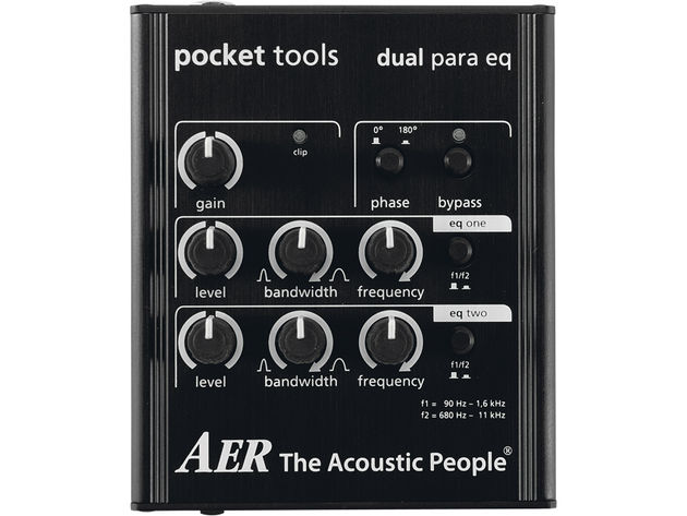 The Dual Para EQ works best in tandem with the Dual Mix.
