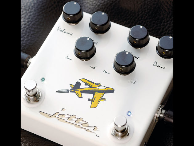 The pedal offers two natural-sounding overdrive effects.