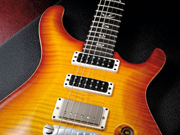 The flame maple top is undeniably stunning, but does add £499 to the basic price.