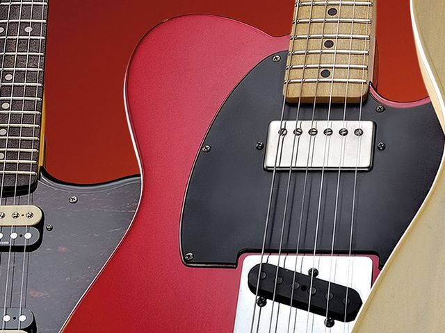 The vivid Candy Apple finish just looks right on a Telecaster.