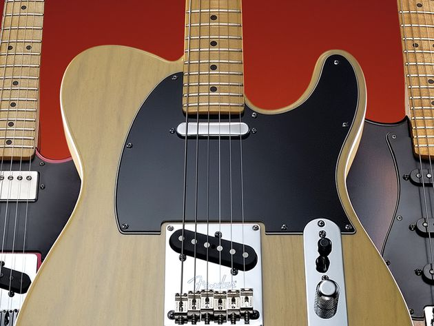 This guitar commemorates the beginnings of the electric solidbody.