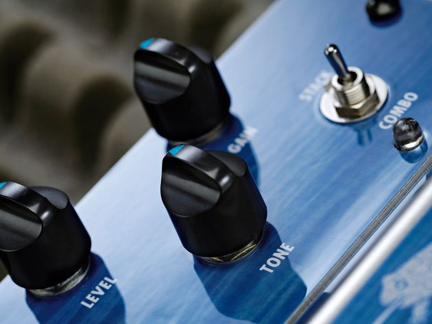 The Stack/Combo switch lets you tailor the bottom-end feel to your liking.
