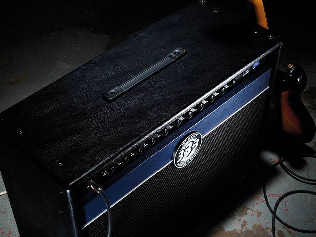 This amp is a hefty one.
