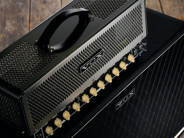 The classic Vox hallmarks are mingled with extra headroom and power.