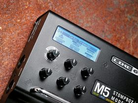 VIDEO: Line 6 M5 Stompbox Modeller