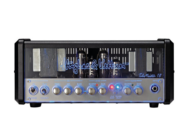 The TM18 features a Perspex front panel, steel chassis and domed metal knobs.