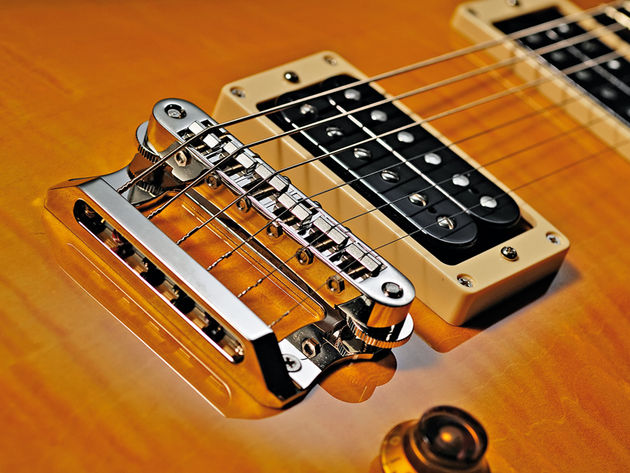 The Kenai boasts a pair of Duncan '59 pickups.