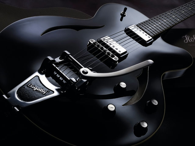 The ultra-slim body makes the Verythin an extremely manageable guitar.