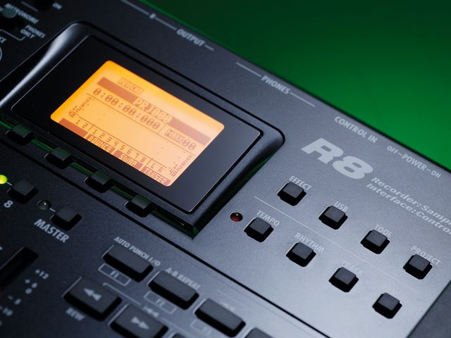 The R8 is a portable yet versatile unit.