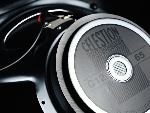 GUITARIST RATING  The Celestion G12 loudspeaker shimmers to your trebly cleans.