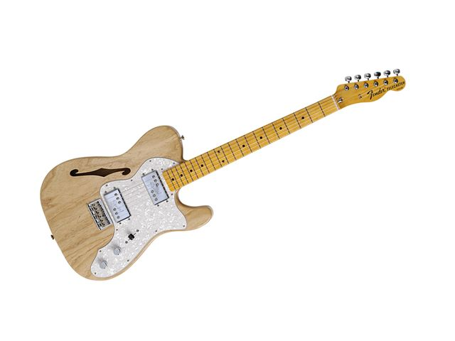 The neck is an all-maple one-piece.