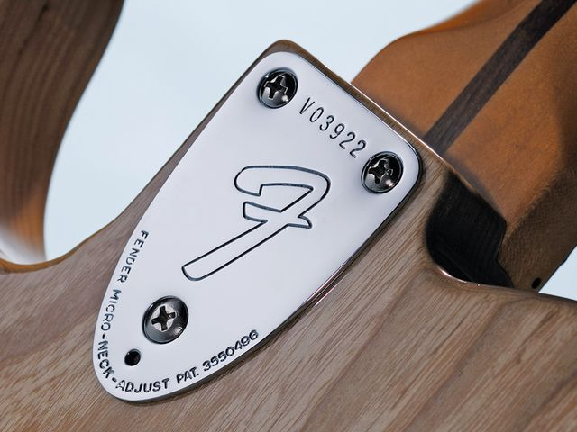 The three-bolt micro-tilt neck works well when done properly.