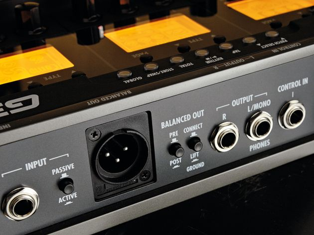 The G3 can act as a two-in, two-out computer audio interface.