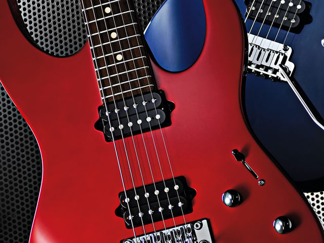 The M200 offers both vintage and '80s rock tones.