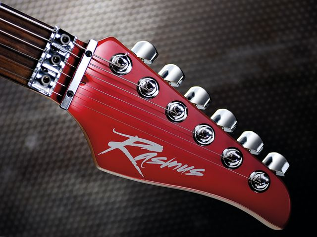 We're not massive fans of the Rasmus logo on the headstock, unfortunately.