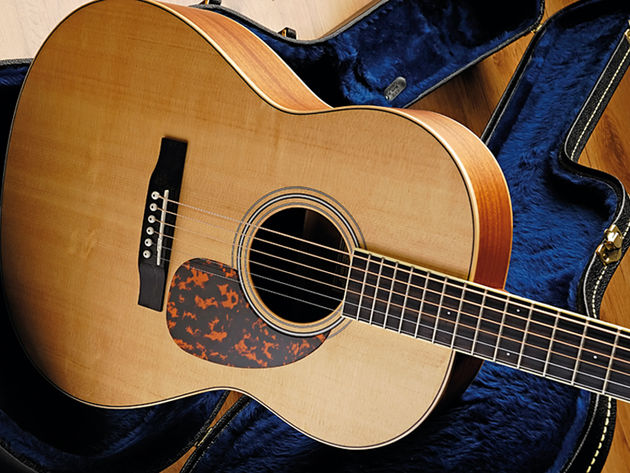 The Larrivee L-02 retails at £799.