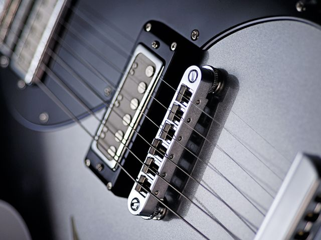 The DeArmond-style mini humbuckers are great for jangly clean tones.
