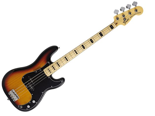 La Fender Precision Bass frôlait la perfection dès le départ.