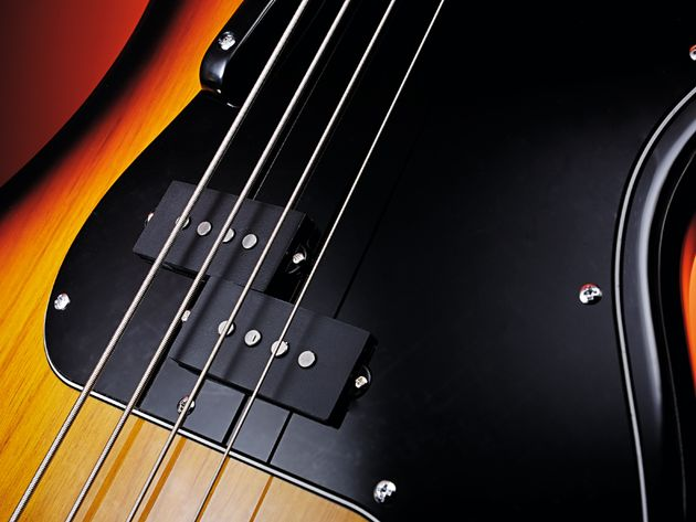 The sound is pure classic P-Bass.
