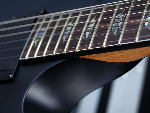 The DS-1 FR we tested had a slightly rounder neck profile than other Charvel Desolation models.