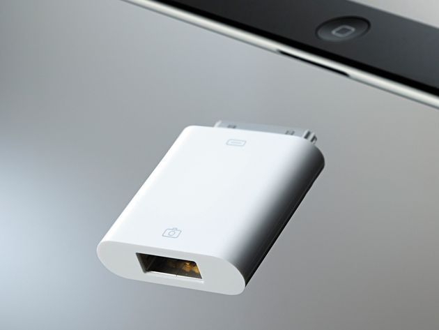 Apple Camera Connection Kit (£25)