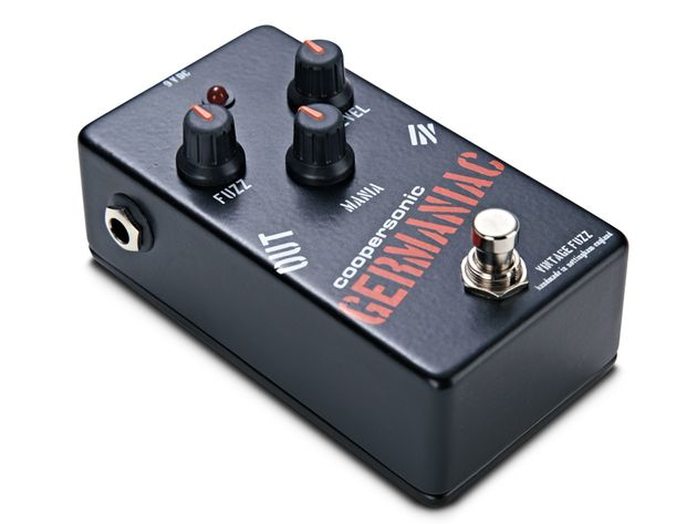 The Germaniac's Mania knob can coax wild analogue synth-style noises from your guitar.