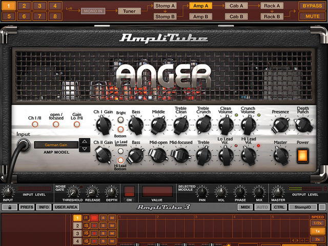 Amplitube 3.7 adds four amps, one cab and two microphones.