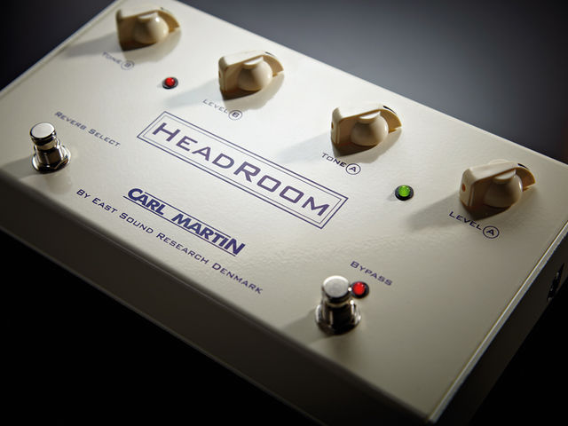The HeadRoom is about the same size as two Big Muffs placed side by side.