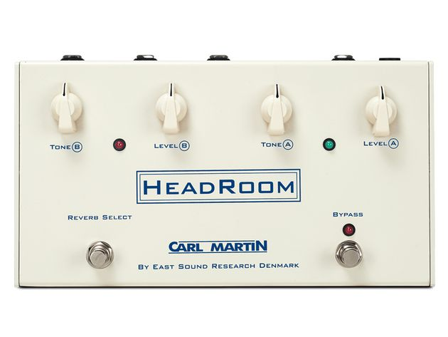 The HeadRoom contains proper reverb springs, just like your trusty old amp…