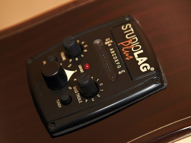 The Studio Lag Plus system provides a wealth of impressive tonal options.