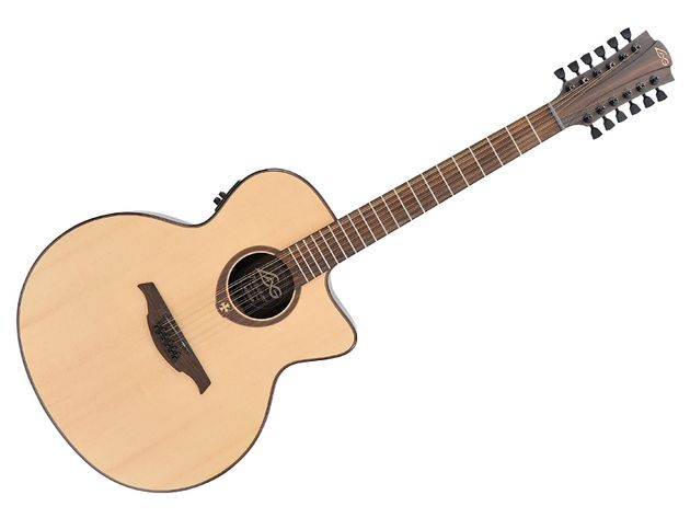 The borderine super-jumbo T400 is a real beast of a guitar.