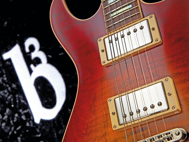 b3 is a new brand from noted luthier Gene Baker.