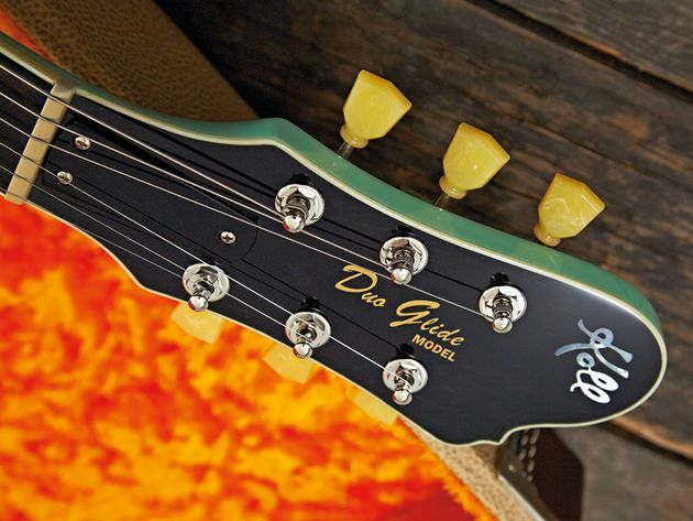 Koll guitars are designed by Portland luthier Saul Koll.