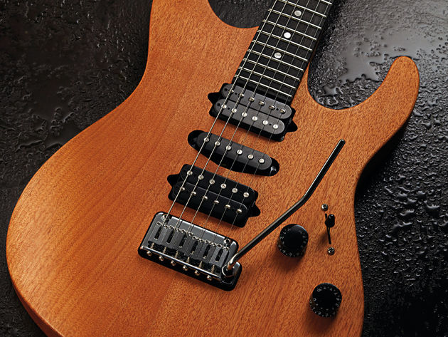 As with its US-made cousins, tonal versatility is at the heart of the Rasmus GG.