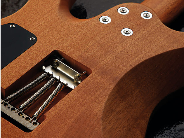 No Tremol-No, but you do get a Gotoh 510 vibrato, as with the Suhr model.