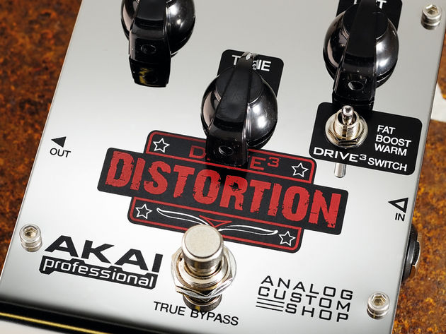 The Drive3 is a lean, mean distortion pedal.