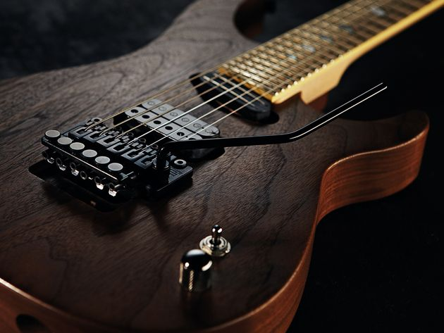 The Horus-HGS's walnut body boosts the presence of its downtuned strings.