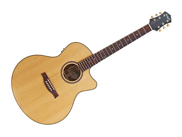 The all-solid Kipawa is a competently built guitar.