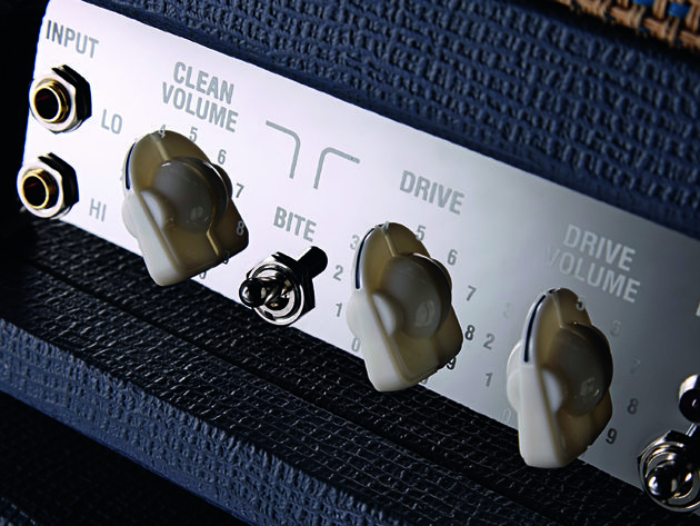 The bite switch emphasises high frequencies when flipped.