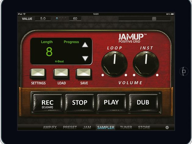 Should you want more amps than the Jam Up Pro offers, extras are available as in-app purchases.