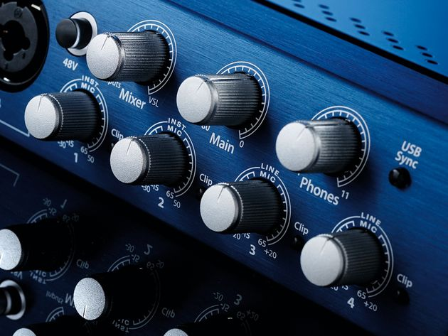 The 44VSL's versatility is a real boon for recording and monitoring.