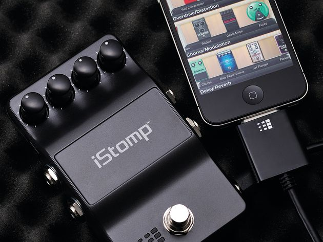 The iStomp can sonically shift into any pedal you want it to be via your Apple device.