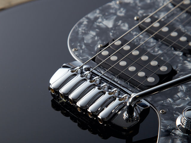 The Taylor Tremolo vibrato is a triumph of form and function.